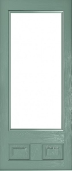 The Alnwick composite door in Chartwell Green.