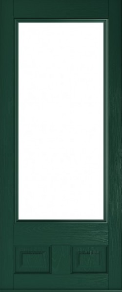 The Alnwick composite door in Green.
