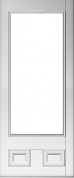 The Alnwick composite door in White.