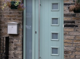 Composite Door Side Panels And Top Lights Composite