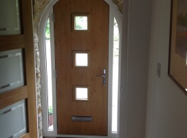 Bespoke composite doors made fitted by Composite Doors Yorkshire