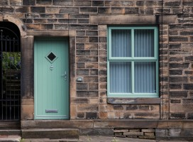 Flint 1 composite door in Chartwell Green, Holmfirth