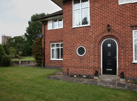 See images of bespoke solid composite doors in situ