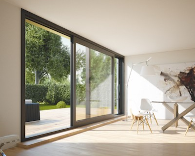 Lift and slide PremiDoor from Kommerling, available from Composite Doors Yorkshire