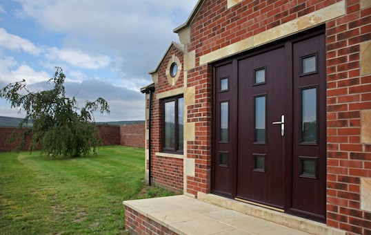 Bespoke composite doors created by Composite Doors Yorkshire.