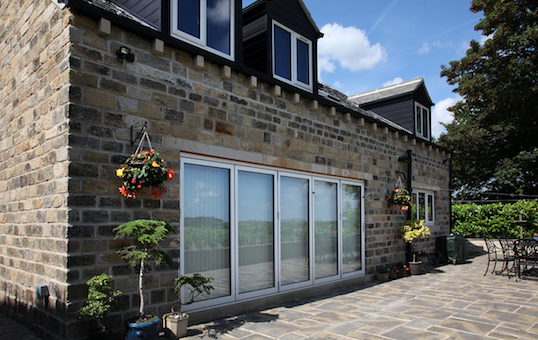 Bi-fold and patio doors manufactured and installed by Composite Doors Yorkshire