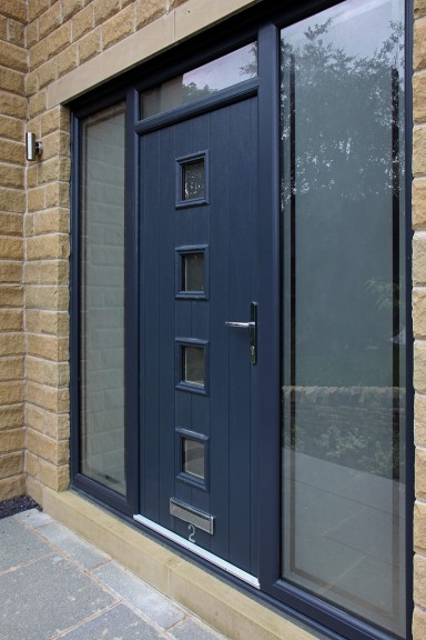 Composite Door Side Panels And Top Lights From Yorkshire